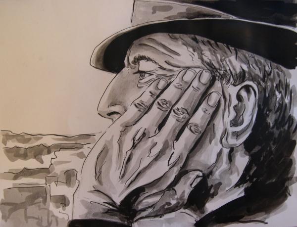 Leonard Cohen par Garance55